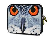 Amzer 7.75 Inch Neoprene Sleeve - Focus Owl Close