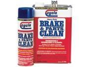 Cyclo Brake and Parts Clean, Low VOC, 14 Ounces Each, Case of 12