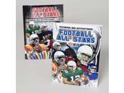Childrens Football Coloring/Activity Book Case Pack 48