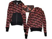 Foo Fighters Repeat Band Name All Over Jacket-small