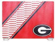 Georgia Bulldogs Tempered Glass Cutting Board