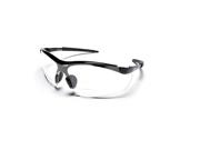 Edge DZ111 Wolf Peak Zorge 2.0 Magnifier Safety Glasses, Black/Clear Lens