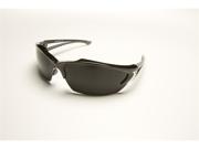 Edge SDK116 Wolf Peak Khor Safety Glasses, Black Smoke Lens