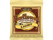 Ernie Ball Earthwood Acoustic Guitar Strings Light 11-52