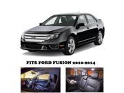 Ford Fusion 2010-2014 LED Interior Lights Package Kit (5 Pieces)