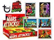 2012 Topps Heritage Mars Attacks Hobby Trading Card Box (24 Packs)