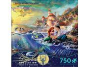 Thomas Kinkade The Little Mermaid 750 Piece JPuzzle
