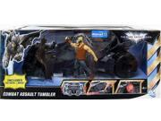 Mattel Batman Dark Knight Exclusive Action Figure Vehicle Combat Assault Tumbler with Batman & Bane