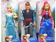 Disney Frozen Elsa Anna Kristoff Sparkle Dolls Bundle Set of 3