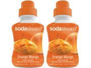 SodaStream Orange Mango Flavoured Drink Concentrate Soda Mix ( 2 Pack )