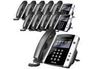 Polycom VVX 600 (10-Pack) VVX600 Business Media Phone