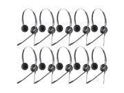 Jabra BIZ 2425 Duo NC (10-Pack) Binaural Noise Canceling Headset
