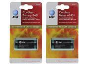 AT&T 89-0045-00 (2-Pack) Telephone Batteries