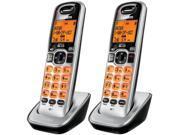 Uniden DCX160-2 DECT 6.0 Compact Cordless Phone w/ Caller ID