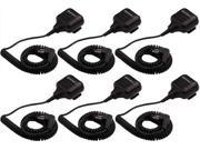 Motorola 53862 (6-Pack) External Speakers and Mic w/ Push-to-Talk Button