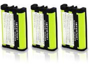 Battery for Uniden BT0003 (3-Pack) Replacement Battery for CLX Series & TCX 400 / TCX 440