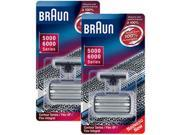Braun  6000FC/31B (2-Pack) Replacement Foil and Cutter 2-Pack