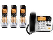 Uniden D1788-3 DECT 6.0 Corded/Cordless Phone w/ 2 Extra Handsets