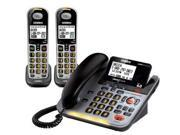 Uniden D3098-2S DECT 6.0 Amplified Corded/Cordless Phone w/ 1 Extra Handset