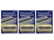 Panasonic WES9063PC stainless steel Replacement Outer Foil For ES8092 / ES8093 / ES8097 3 Pack