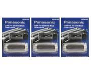 Panasonic WES9014PC Replacement Inner Blade And Outer Foil For Vortex ES8224 And ES8228 Shavers 3 Pack