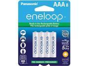 PANASONIC SPKBK4MCCA8BAW eneloop Batteries AAA 8  pack