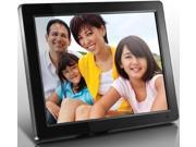 "Aluratek ADPMF512F 12"" Digital Picture Frame w/ 512 MB Internal Memory"