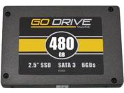VisionTek QV8966B VisionTek GoDrive SSD 480GB High Performance SATA III 6.0Bb/s 2.5in Solid State Drive (900606)