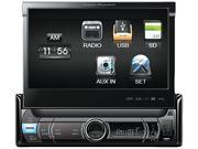 PowerAcoustic POWPDR780B Power Acoustik Pdr-780 7 Single-din In-dash Multimedia Receiver With Detachable Face