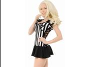 Sexy Halloween Playboy Adult Sports Referee Costume