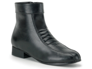 Mens Shoe Black Heeled Pimp Beatles Costume Boots