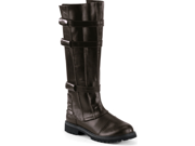 NEW Mens Super Hero Brown Biker Costume Boots