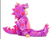 Baby Purple Dragon Toddler Puff Plush Halloween Costume
