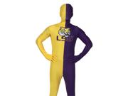 Louisiana State LSU Tigers Plus Size Second Skin Invisible Man Costume