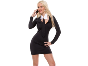 Sexy Secretary Girl Office Outfit Halloween Costume