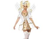 Sexy Steampunk Victorian Clockwork Angel Halloween Costume