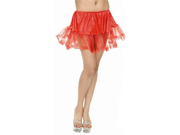 Red Sexy Adult Lace Petticoat Slip Womens