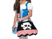Kids Jolly Roger Pirate Skull Trick Or Treat Bag Costume Purse
