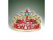 Holiday New Year Party Gold Princess Tiara