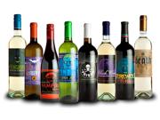 Halloween Party Glow in the Dark Wine Bottle Labels Stickers
