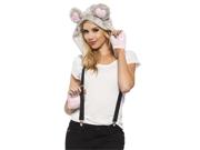 Adult Mouse Hood Adult Animal Halloween Costume Kit