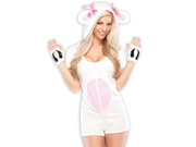 Sexy Cute Womens Lamb Sheep Furry Animal Halloween Costume