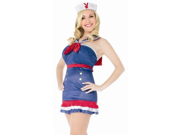 Sexy Halloween Playboy Costumes Adult Sailor Costume
