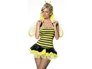 Sexy NEW Halloween Costumes Queen Bumble Bee Costume