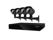 Defender 8CH 500GB Security DVR with 4 x 600TVL IR Cut Filter 100ft Indoor/Outdoor Cameras - 21024