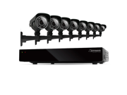Defender 8CH 500GB Security DVR with 8 x 600TVL IR Cut Filter 100ft Indoor/Outdoor Cameras - 21025