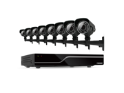 Defender Sentinel 16CH H.264 500GB Security DVR w/ 8 Hi-res Outdoor Surveillance Cameras and Smart Phone Compatibility