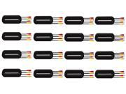 SVAT 65ft In-Wall, Fire-Rated UL/FT4 Certified Surveillance Camera Extension Cable (11008) - 16 Pack