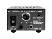 SPECO TECHNOLOGIES PSR4C CSI 4AMP 12VDC POWER SUPPLY W/