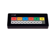 LOGIC CONTROLS KB1700RS-B-BK PRGM KPD,BLACK,RS232,LGND B (XPIENT LGND)